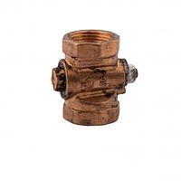 Кран газовый конусный пробковый ду-25 Sandi