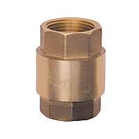 """Обратный клапан усиленный с латунным штоком  (пружинный) 1/2"""" Sandi Forte"""