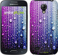 "Чехол на Samsung Galaxy S4 mini Капли воды ""3351c-32"""