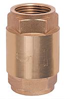 """Обратный клапан ЕВРО усиленный с латунным  штоком (пружинный) 1-1/4"""" Sandi Forte"""