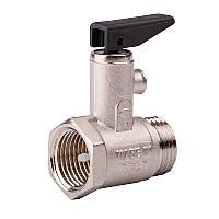 """Предохранительный (подрывной) 1/2"""" обратный  клапан для бойлера (с ручкой) №GS09 ICMA"""
