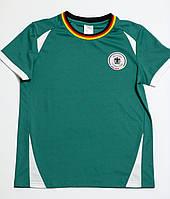 Детская спортивная тренировочная футболка для мальчика р.140 футбольный клуб Германии