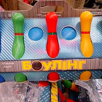 Детский боулинг 10кеглей+2 мячики
