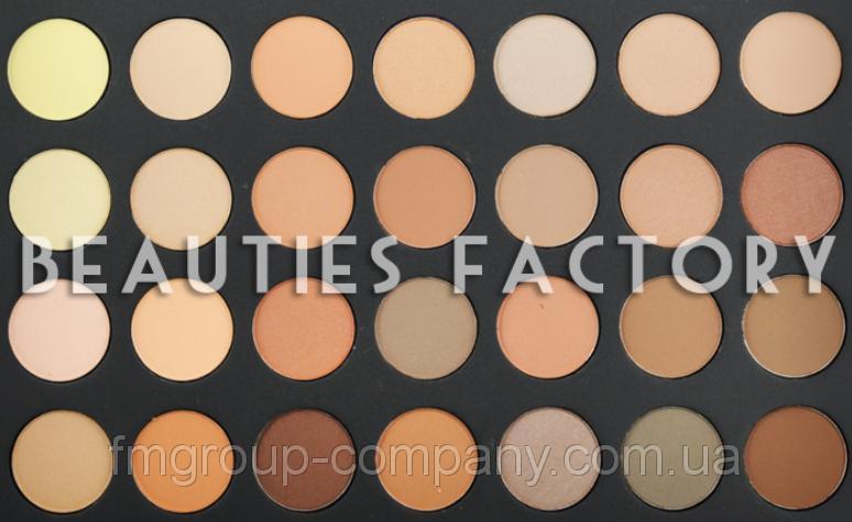 Beauties Factory 28 Палитра корректоров