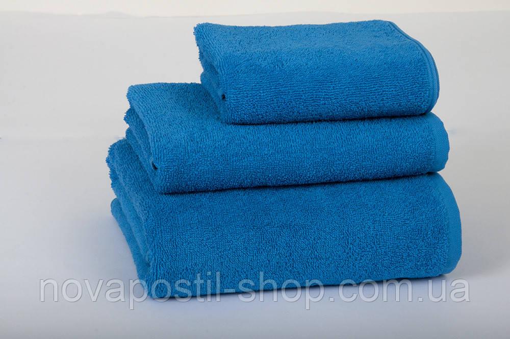 Полотенце Lotus 50х90 см синие Varol плотность 420