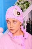 Куртка с шапкой для девочки Одри. Детская одежда. , фото 3