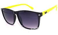 Солнцезащитные очки - копия Рей бен модель RB49 салатовые