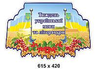 Табличка Тиждень украінської мови та літератури