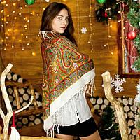 Українська хустка (125х125см) - орнамент