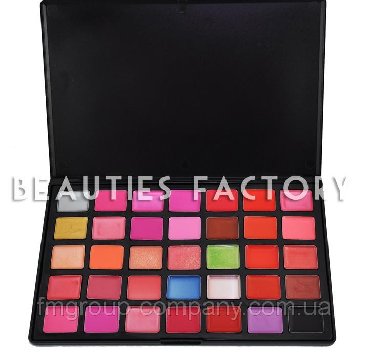 Beauties Factory 35 Палитра блесков для губ