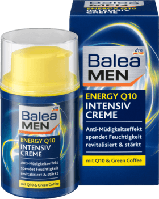 Balea MEN Tagespflege Intensivcreme energy Q10 - Увлажняющий крем для лица Антистресс с Q10 для мужчин, 50 мл
