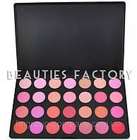 Beauties Factory 28 Палитра румян