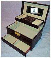 Шкатулки для ювелирных украшений и бижутерии №8909 Coffee кофе