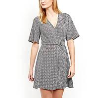 Платье на запАх под пояс New Look