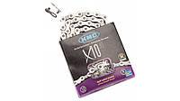 Велосипедная цепь KMC X10.93 (замок в комплекте)