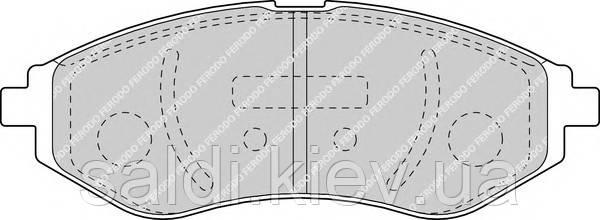 Тормозные колодки передние шевроле авео Lanos/Aveo BREMBO P24048 Киев