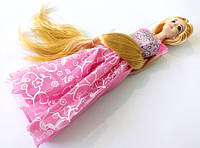 Кукла подобная барби с длинным волосом модная блондинка лялька, фото 1