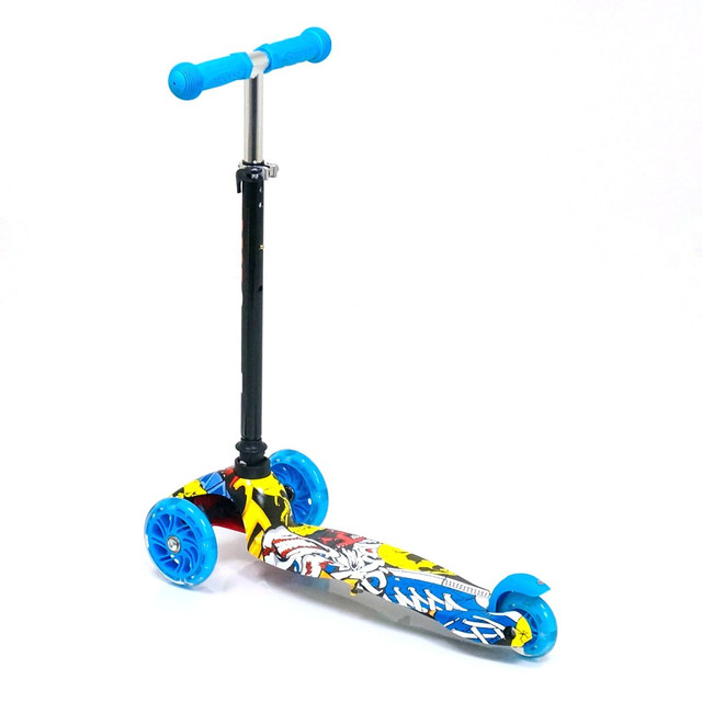 Детский самокат трехколесный Best Scooter 1292