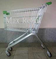 Тележка покупательская без поддона 80 л., фото 1