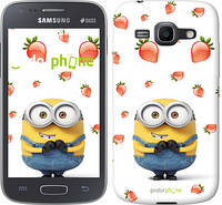 """Чехол на Samsung Galaxy Ace 3 Duos s7272 Миньон с клубникой """"3369c-33"""""""
