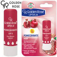 Golden Rose - Бальзам для губ Lip Balm SPF15 Pomegranate (гранат)