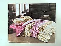 Семейный комплект постельного белья Flamingo