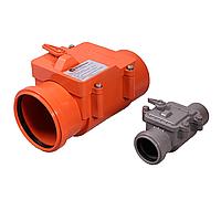 Обратный клапан (запорный) (d110мм) Интерпласт