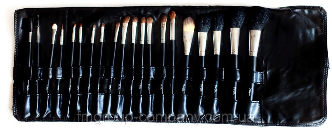 Профессиональный набор 20 кистей для макияжа DELFA