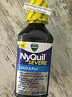 Сироп от кашля, простуды или гриппа VICKS NyQuil на ночь, фото 1