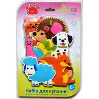 Игрушки для купания KinderenOK FIXI Любимая ферма, фото 1