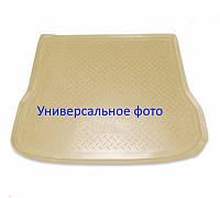Коврик в багажник Audi Q5 (8RB) (08-) полиур. беж NORPLAST NPL-P-05-04B