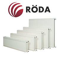 Стальной радиатор отопления 22К 500Х2000 боковое подключение 3735 Вт