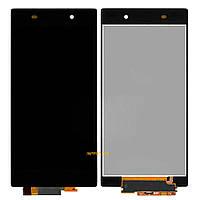 Дисплей (LCD) Sony C6902, C6903 L39h, Xperia Z1 с сенсором Black Original