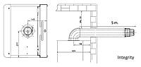 Комплект для коаксиального дымохода 1000  мм, 60/100 (Condensing)
