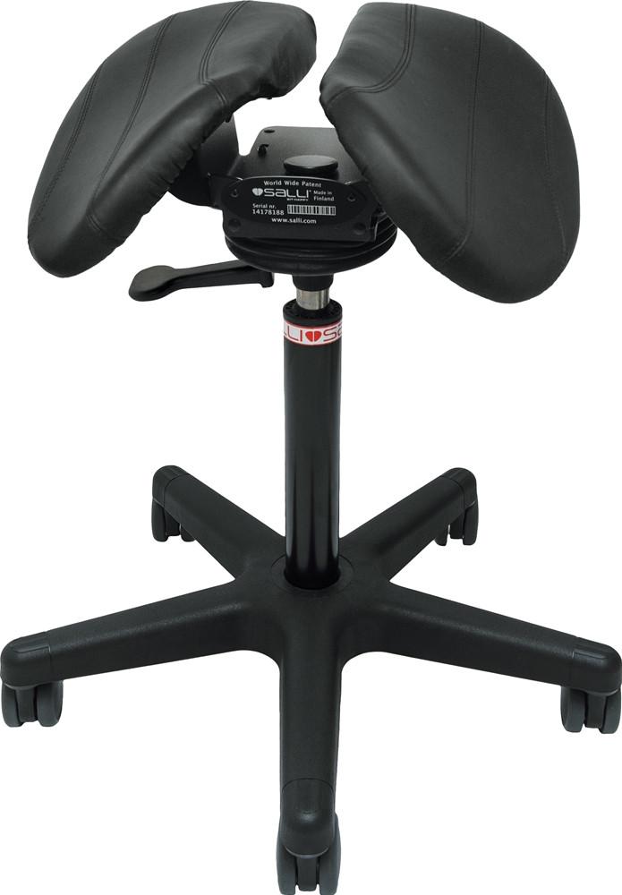 Salli Swing Care Эргономичный стул седло c ортопедическим эффектом (кожа)