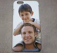 Печать фото на чехле для iphone 6 (3d)