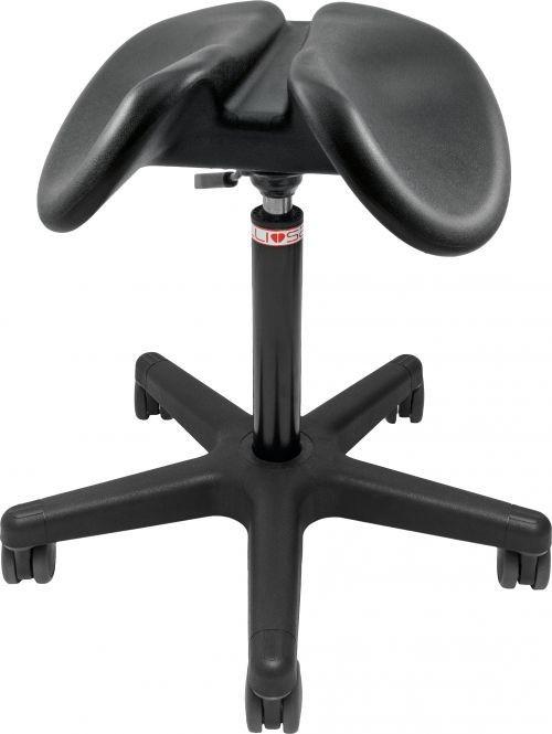 Salli Light Sway Эргономичный стул-седло для правильной осанки (полиуретан)