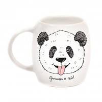 Чашка Панда  керамика 350 мл в подарочной коробке