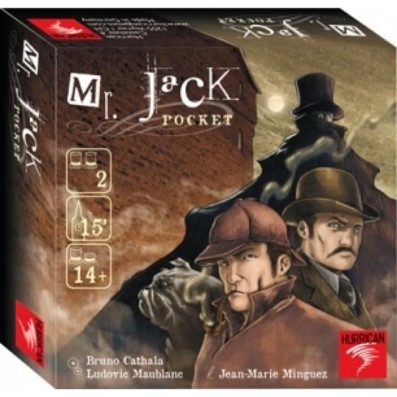 Настольная игра Mr. Jack Pocket (Карманный мистер Джек)