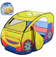 """Детская палатка M 2497 """"Машинка"""" HN, КК"""