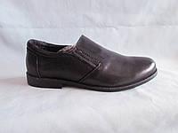 Детские туфли на мальчика 31-36 р., черные