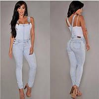 Комбинезон женский джинсовый W66