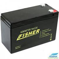 Аккумулятор для эхолота 7 Ah AMG Fisher 12v черный