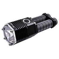 Супер мощный фонарь на два аккумулятора
