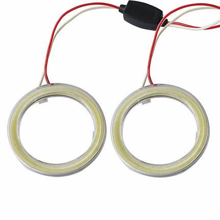 120 мм led-кольца в фару (ангельские глазки) суперяркие 2шт., фото 2