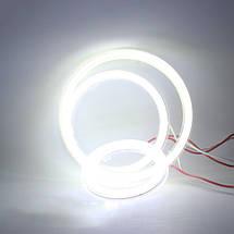 90 мм led-кольца в фару (ангельские глазки) суперяркие 2шт., фото 3