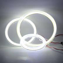 90 мм led-кольца в фару (ангельские глазки) суперяркие 2шт., фото 2