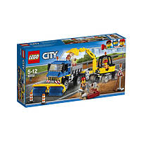 Лего 60152   Уборочная техника