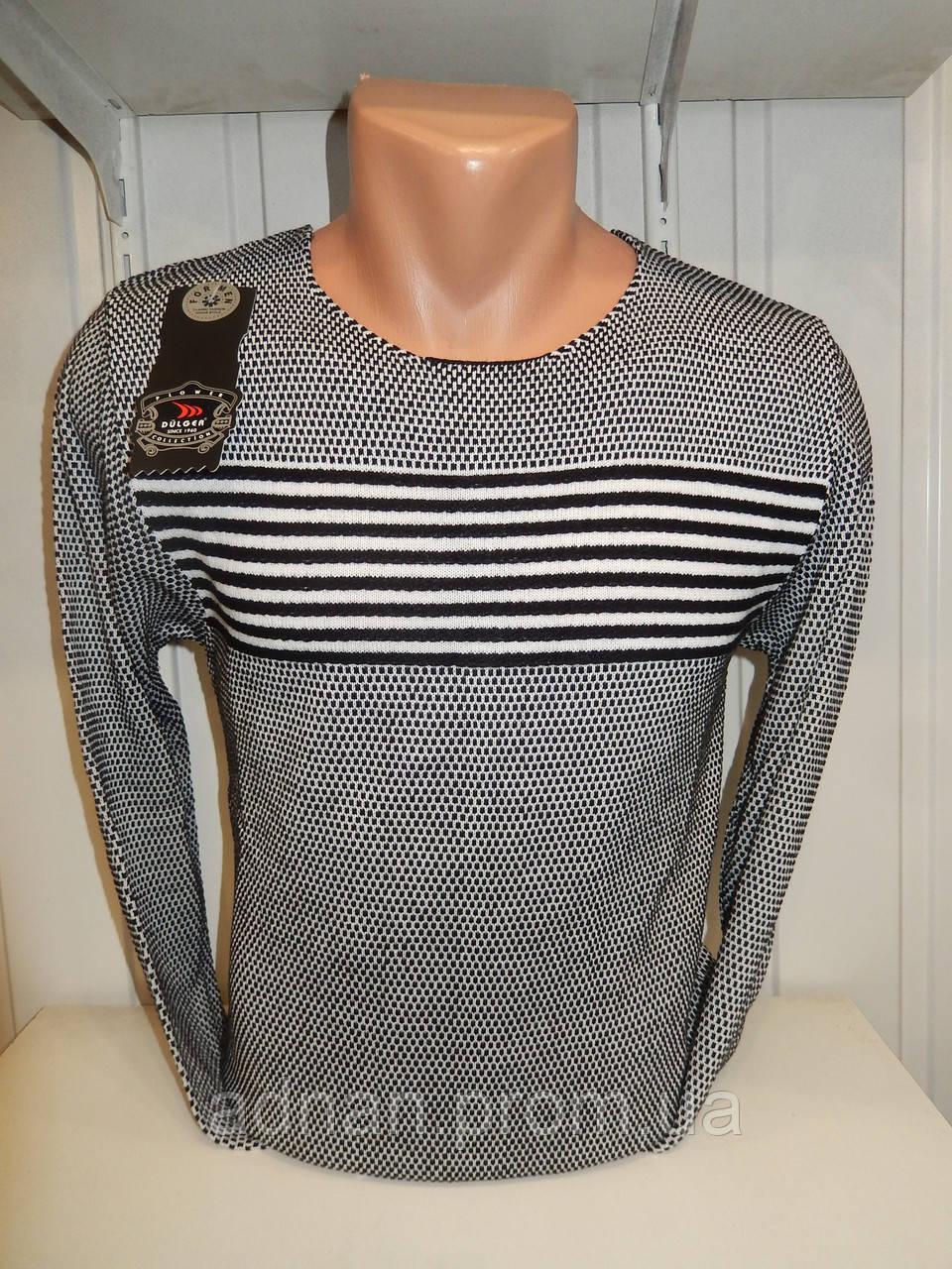 Свитер мужской DULGER,полосы 003\ купиь свитер мужской оптом