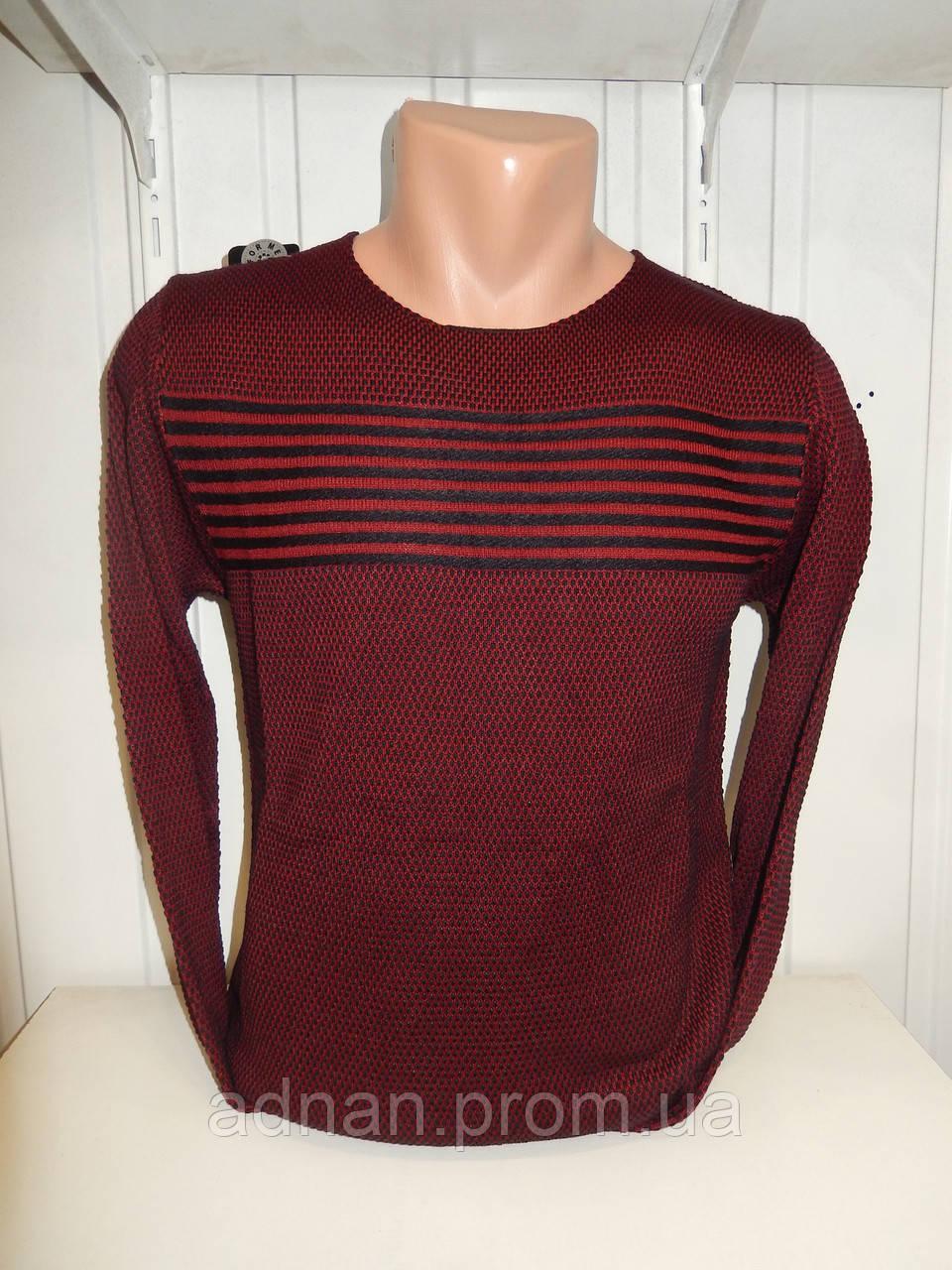 Свитер мужской DULGER,полосы 004\ купиь свитер мужской оптом